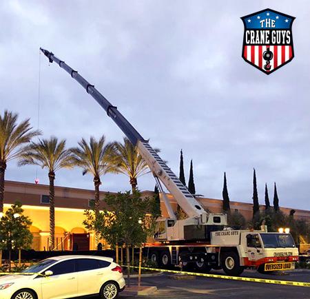 100-Ton Crane Rental Service