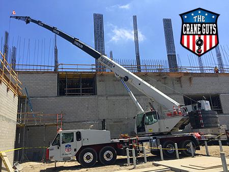 100 Ton Crane Rentals