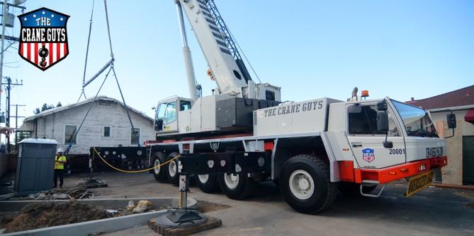 120-Ton Crane Rental