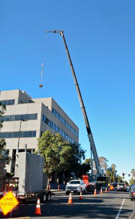 200 ton crane - safety