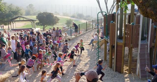 Crane Guys donates Topanga Canyon crane rental for Playground Project