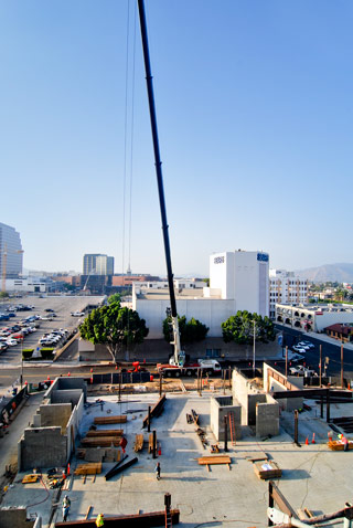 crane rental los angeles city of glendale