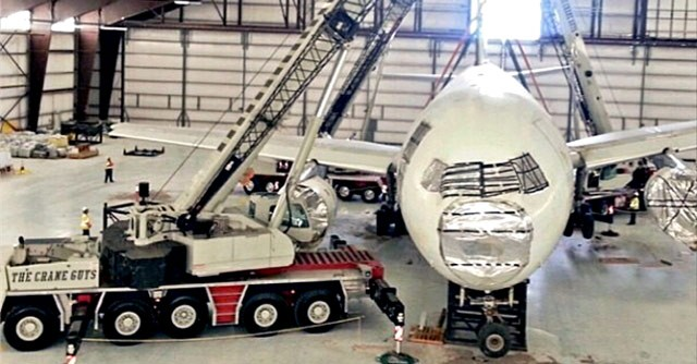 Airplane Gets New Kind of Lift
