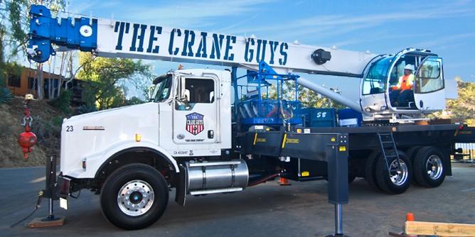 Boom Truck With Hydraulic Lift : Boom truck rental crane guys