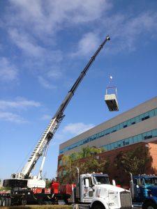 hvac crane rental service