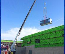 HVAC Crane Rental
