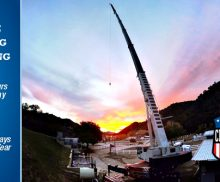Emergency Crane Rental at Full Force