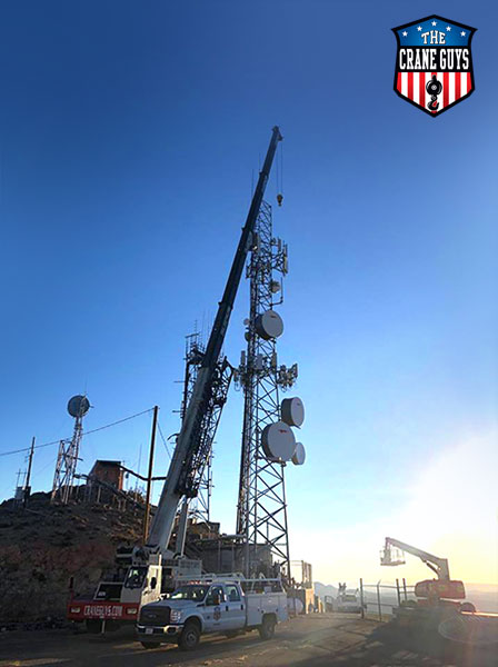 Cell Site Removal Crane Service