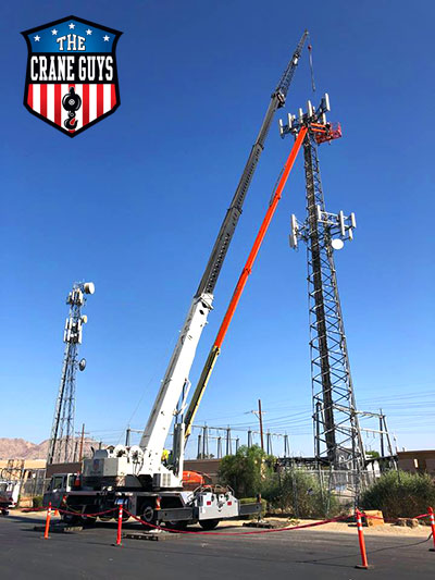 Construction Crane Rental Service
