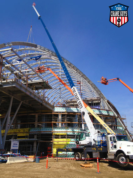 Crane Company Service for Installing Structural Steel
