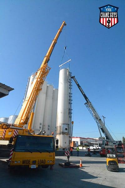 Crane Company Service for Moving