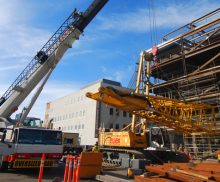 Crane Company for Installing Structural Steel