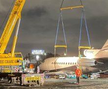 Crane Company for Lifting Planes