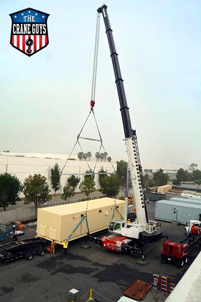 Crane Rental Service California