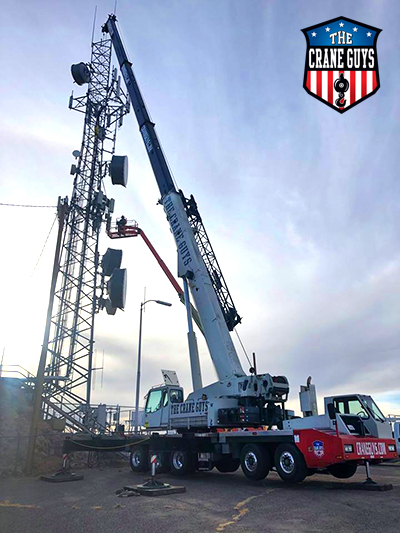 Crane Rental Services in California