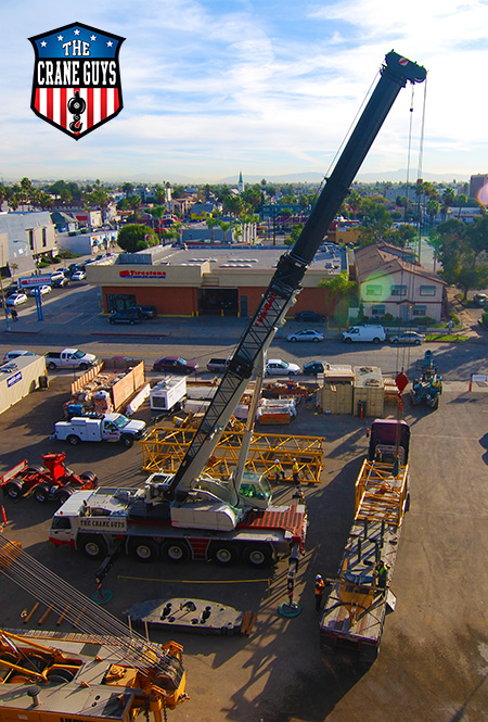 Crane Rental Service Long Beach