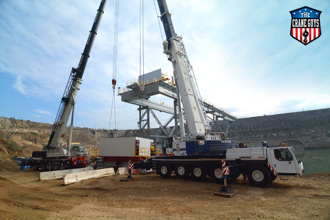 Crane Rental Services for Lifting and setting Modular Buildings