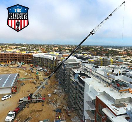 Crane Rentals for Construction Project Service