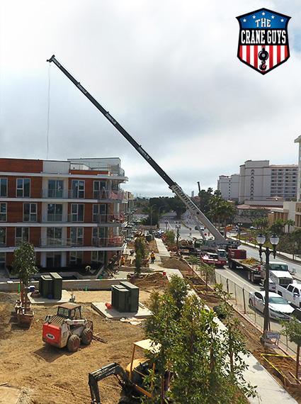 Crane Rentals for Construction