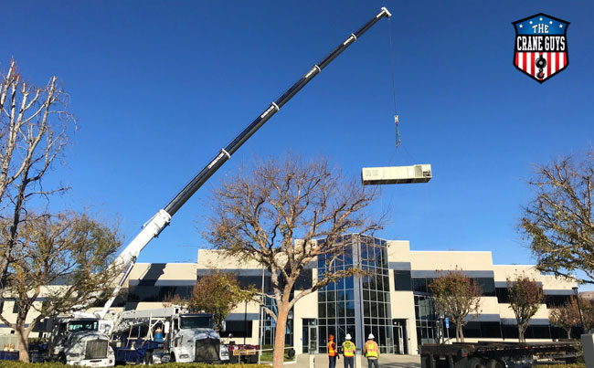 Crane Service Lifts for Modular Buildings