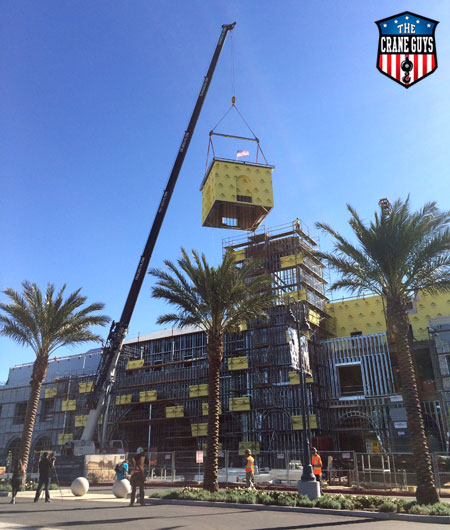 Crane Service for Modular Buildings