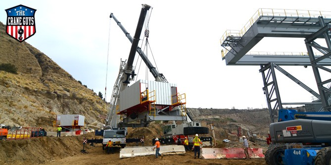 Crane Services for Lifting and setting Modular Buildings
