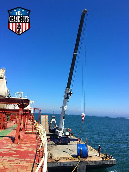 Crane and Operators