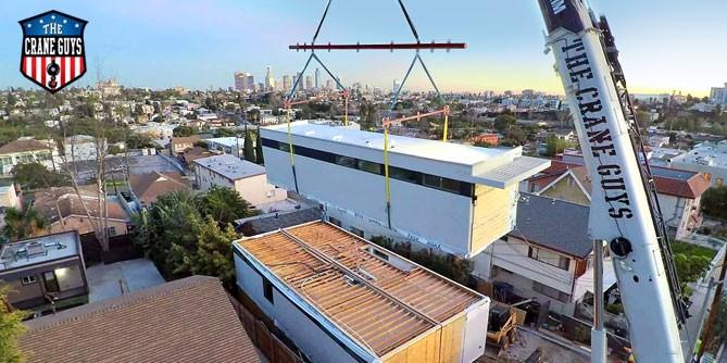 Crane for Modular Buildings