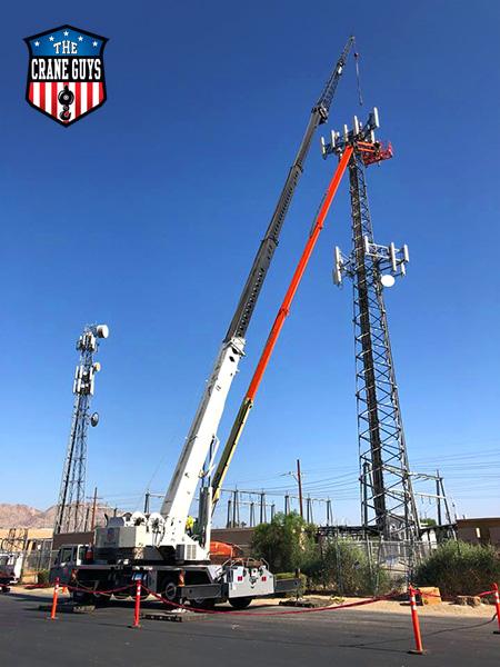 Cranes for 5g Antenna Installation