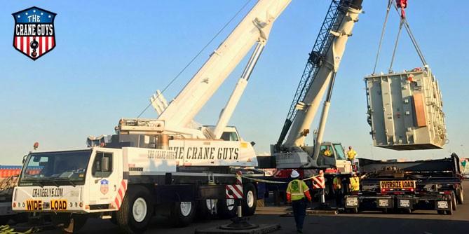 Cranes for Installing Mechanical Equipment
