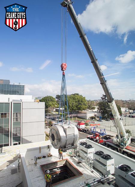 Critical Crane Lift Service