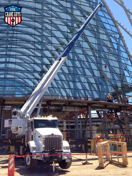 Glass Lifting Crane Services for Hire