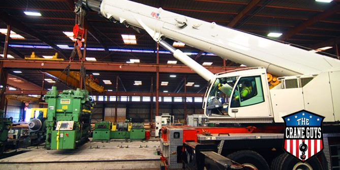Industrial Crane Rental