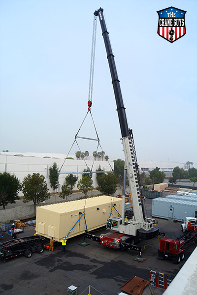 Maintained and Operated Crane Rental