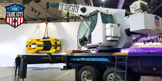 Mobile Hydraulic Crane