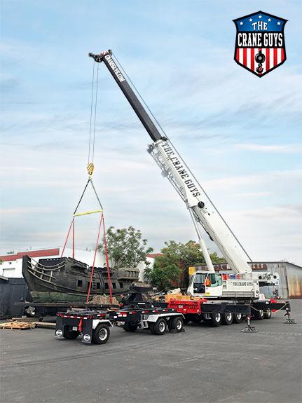 Mobile Hydraulic Crane Services