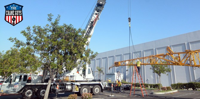 Need a Crane for an Installation? Call The Crane Guys