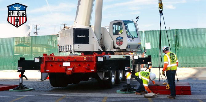 Operated Crane Rental Service