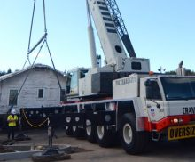 Oversize Hauling, lifting and installations