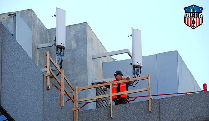 Telecom Crane Rental Service