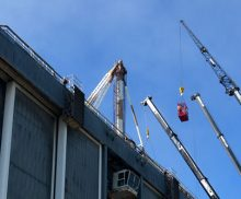 Temporary Suspended Platform and Crane Rental