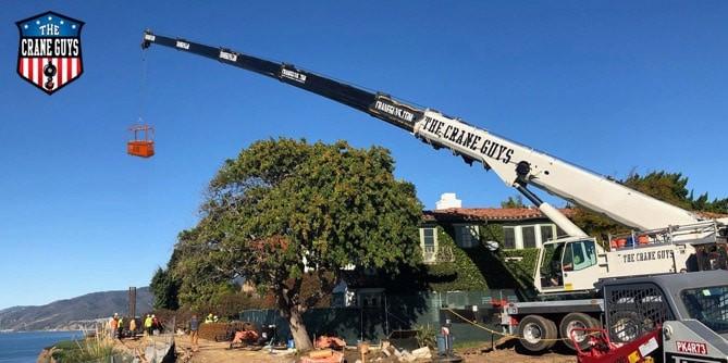 Tree Trimming Bucket Truck Rentals